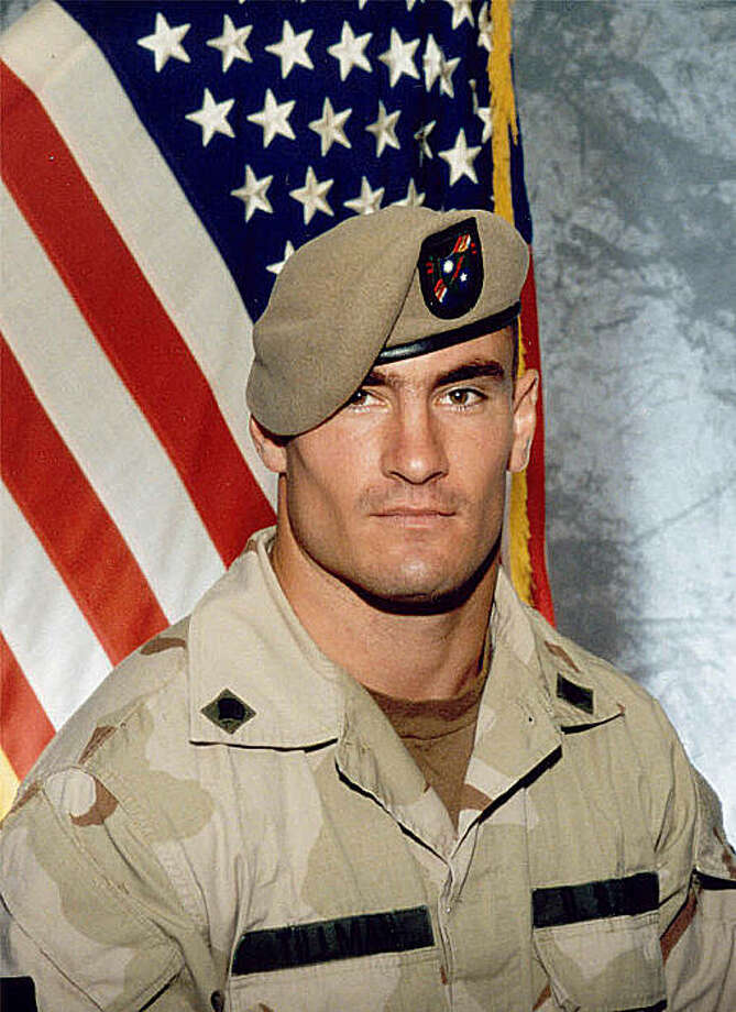 "**FILE** In this June 2003 file photo, Former Arizona Cardinals football player-turned Army Ranger Pat Tillman, is shown in a photo released by Photography Plus. Tillman's mother, Mary, suspects the military's account of how fellow Army Ranger comrades shot and killed her son in Afghanistan is still not the true story, according to her new book. ""Boots on the Ground by Dusk: My Tribute to Pat Tillman,"" just issued by Modern Times books, is based on her review of those documents and charts the Tillman family's efforts to cut through misleading official accounts of how the former pro football player died. (AP Photo/Photography Plus via Williamson Stealth Media Solutions) **NO SALES** Photo: Photography Plus Via Williamson, AP"