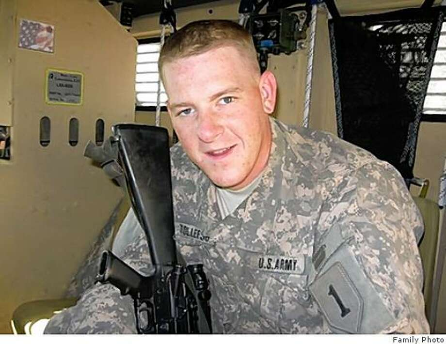 obit photo of Pvt. Benjamin B. Tollefson, 22, of Concord, Calif., who died Dec. 31 in Balad, Iraq, of wounds suffered when insurgents attacked his unit with indirect fire in Ghazaliya. Tollefson was assigned to the Special Troops Battalion, 2nd Heavy Brigade Combat Team, 1st Infantry Division, Fort Riley, Kan. Photo: Family Photo, Same