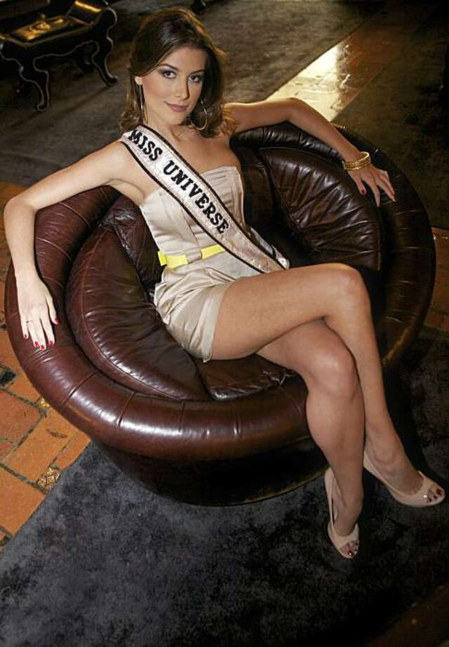 In this photo taken on on Thursday, Aug. 5, 2010, Miss Universe 2009 Stefania Fernandez from Venezuela, poses for a photo at the Roosevelt Hollywood hotel in Los Angeles. The 2010 Miss Universe Pageant will be held in Las Vegas on Aug. 23. Photo: Damian Dovarganes, AP