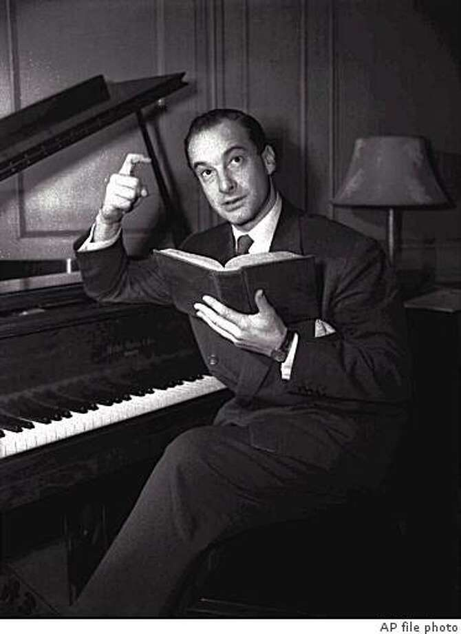 Victor Borge, AP file photo, 1943 Photo: AP File Photo