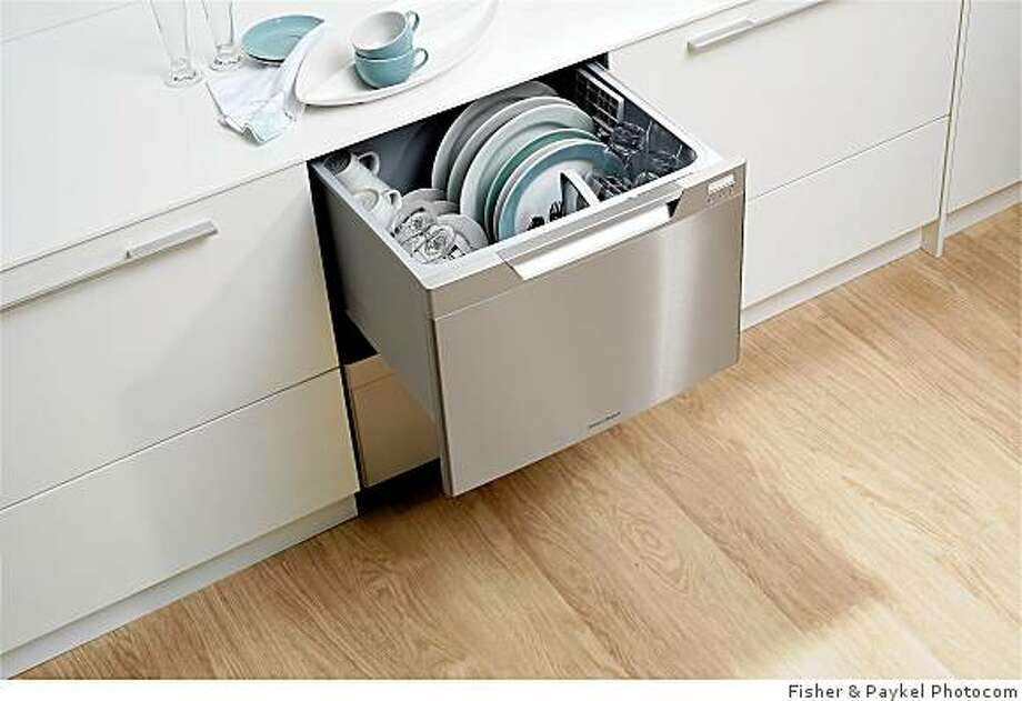 The new Tall DishDrawer on the way from Fisher & Paykel. Photo: Fisher & Paykel Photocom