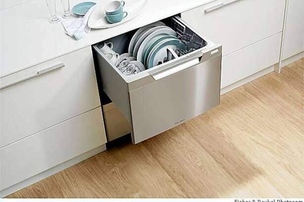 The new Tall DishDrawer on the way from Fisher & Paykel.