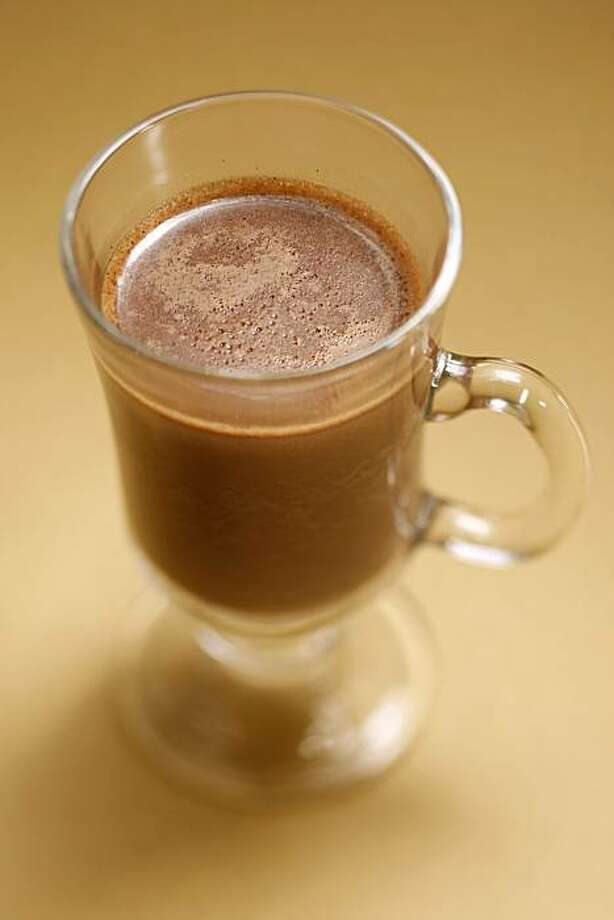 Foamy Hot Chocolate in San Francisco, Calif., on December 24, 2008. Food styled by Cindy Lee. Photo: Craig Lee, The Chronicle