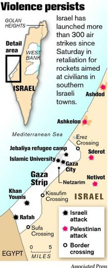 Mideast wary of Israel's Gaza attack strategy - SFGate