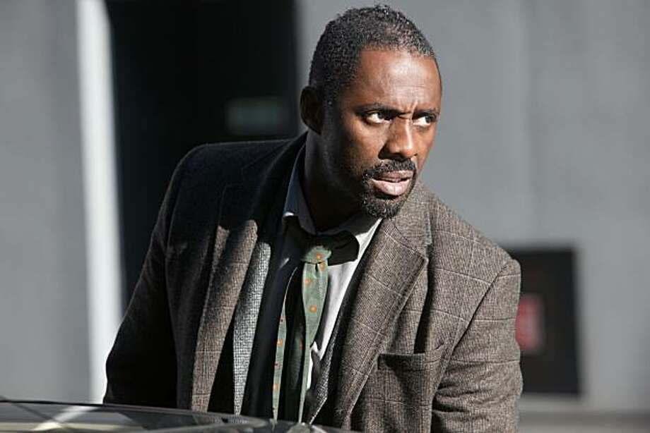 BBC's new show Luther - Idris Elba (John Luther) Photo: Bbc
