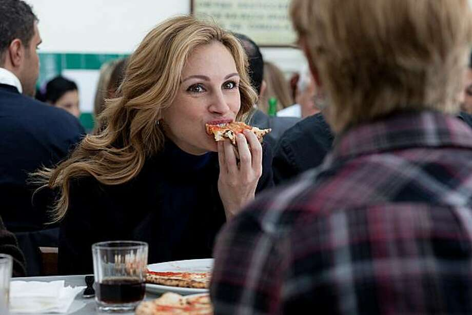 "FILE-- Julia Roberts as ""Elizabeth Gilbert"" in Columbia Pictures' ""EAT, PRAY, LOVE."" Photo: CTMG, Inc."