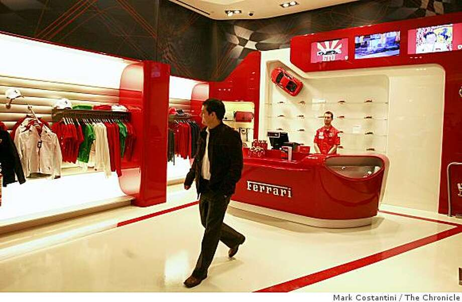 The interior of the Ferrari concept in San Francisco, Calif. on Monday, December 9, 2008. Photo: Mark Costantini, The Chronicle
