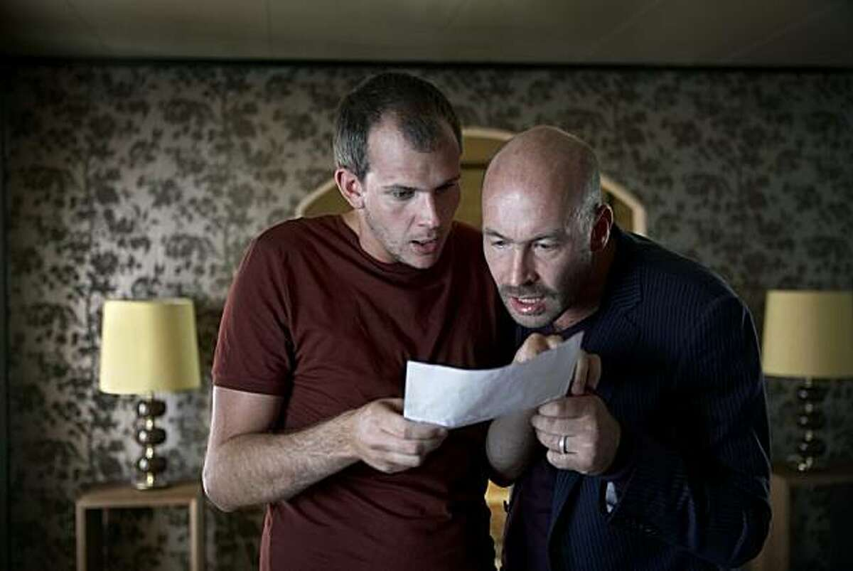 Gustaf Skarsg?'rd as Gšran & Torkel Petersson as Sven in a scene from,