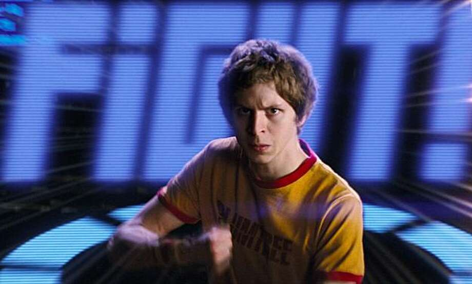 "In this film publicity image released by Universal Pictures, Michael Cera is shown in a scene from ""Scott Pilgrim vs. the World"". Photo: Universal Pictures, AP"