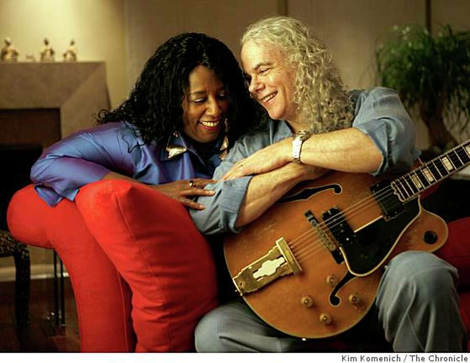 Guitar-vocal duet artists Tuck and Patti Andress are photographed in their Menlo Park, Calif., home on Saturday, Nov. 8, 2008 Photo: Kim Komenich, The Chronicle