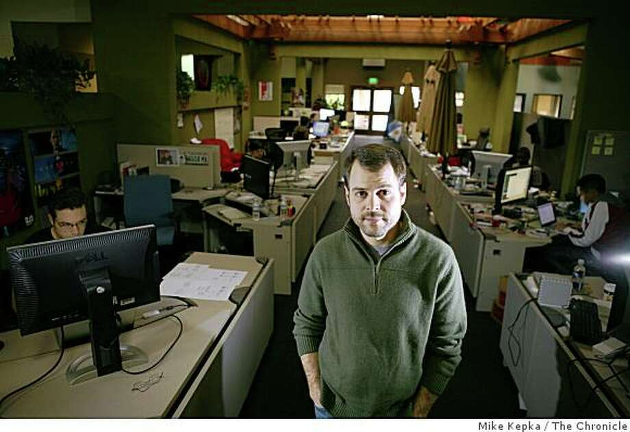 John Lilly, CEO of Mozilla, poses for a portrait at Mozilla corporate headquarters on , Tuesday Dec. 16, 2008 in Mt. View, Calif. Photo: Mike Kepka, The Chronicle