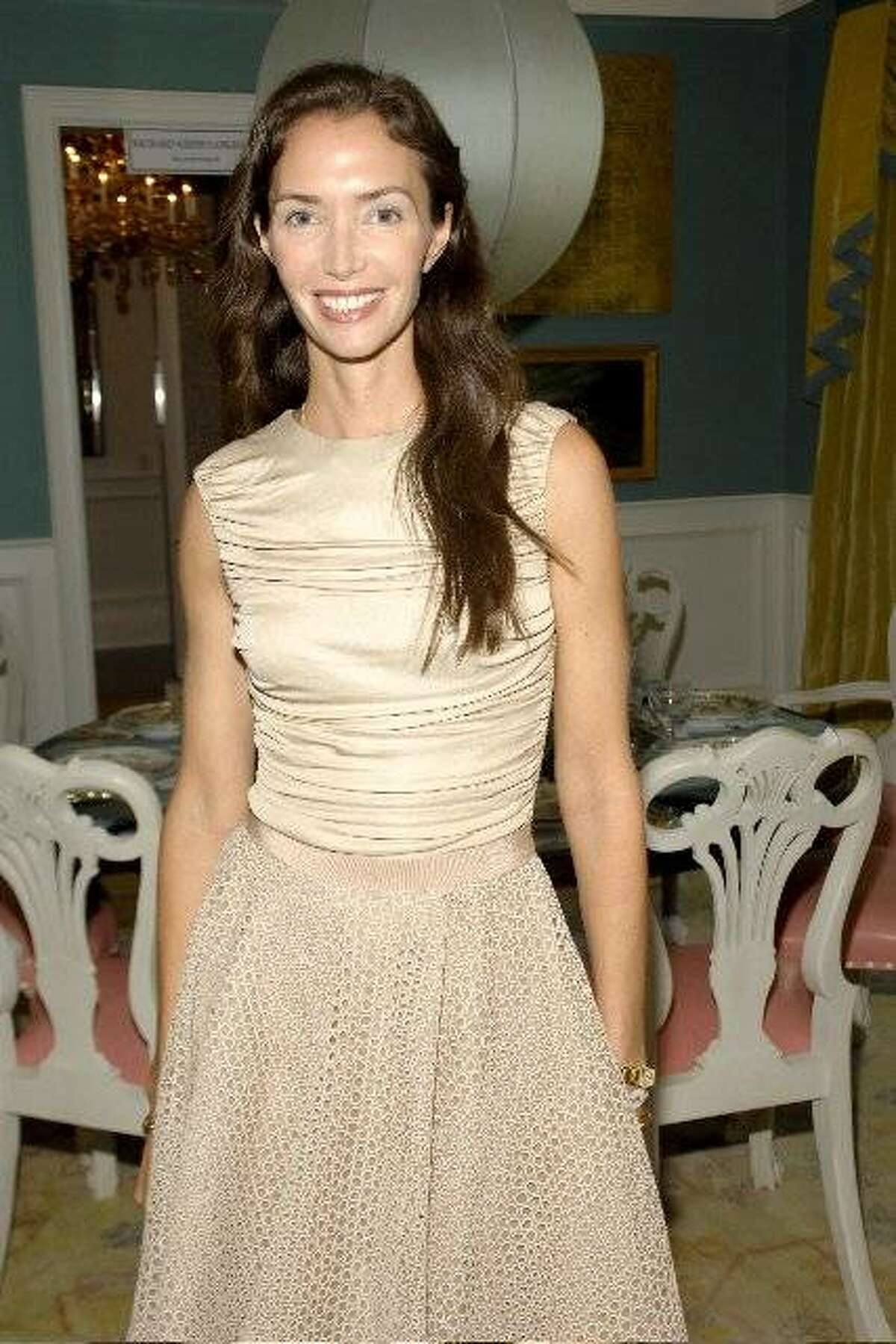 Olivia Chantecaille at the OKL Hamptons Launch. July 2010. By Patrick McMullan.