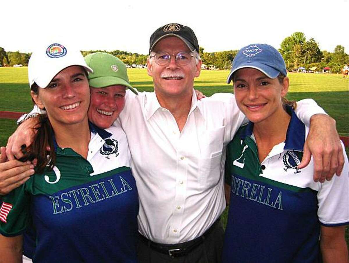 Estrella Team members Tara Lordi, C.C. Snow, George Hearst and Angela York. July 2010. By Catherine Bigelow.