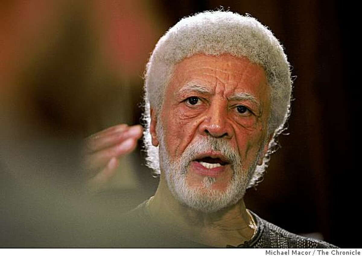 Mayor Ron Dellums at his City Hall Office in Oakland, Calif., on Tuesday Dec. 23, 2008.
