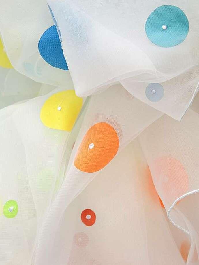 Kontextur's Moondance shower curtain Photo: Kontextur