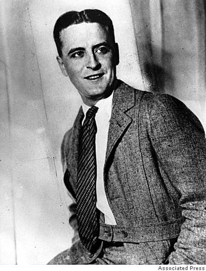 This is an undated photo of author Francis Scott Key Fitzgerald. Photo: Associated Press