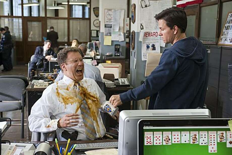 "Will Ferrell, left, and Mark Wahlberg  in Columbia Pictures' comedy ""The Other Guys"" Photo: Macall Polay, Columbia Pictures"