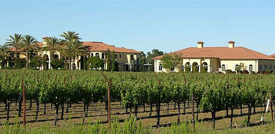 The surrounding vineyards and the houses of 4286 Suisun Valley for Hot Property. Photo: Courtesy Country Estates
