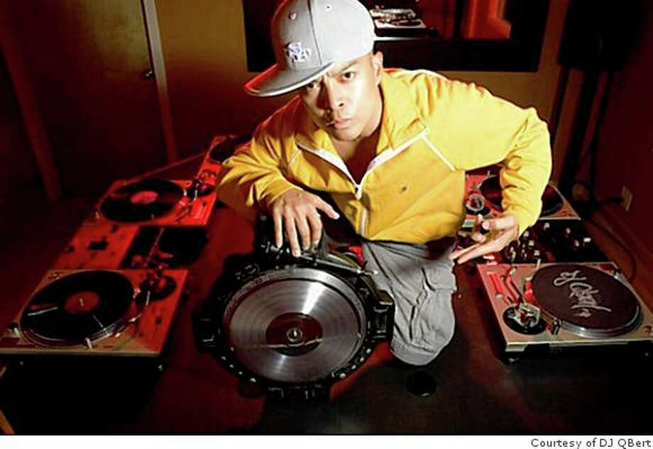 DJ Qbert, a.k.a. Richard Quitevis, got his first turntable as a child, and he's been scratching out music ever since. He'll be performing at the Independent on Friday. Photo: Courtesy Of DJ QBert