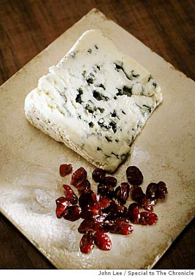 "CHEESE25_JOHNLEE.JPG SAN FRANCISCO, CALIF - JAN 17:  Gabriel Coulet ""Le Petit Cave"" Roquefort cheese.By JOHN LEE/SPECIAL TO THE CHRONICLE Photo: John Lee, Special To The Chronicle"