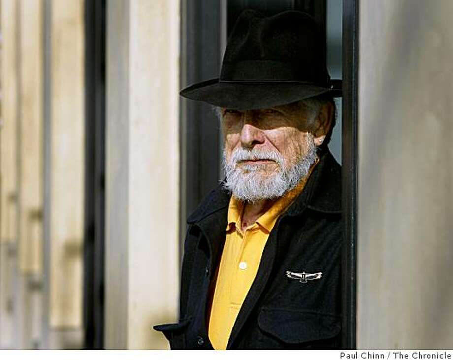 Poet Gary Snyder visits Berkeley, Calif., on Wednesday, Dec. 3, 2008. Snyder's newest publication is a collection of letters between the Snyder and fellow poet Allen Ginsberg Photo: Paul Chinn, The Chronicle