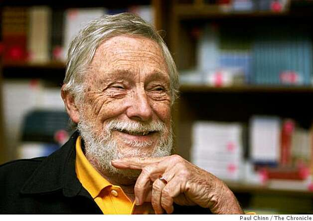 Poet Gary Snyder visits his publisher in Berkeley, Calif., on Wednesday, Dec. 3, 2008. Snyder's newest publication is a collection of letters between the Snyder and fellow poet Allen Ginsberg Photo: Paul Chinn, The Chronicle