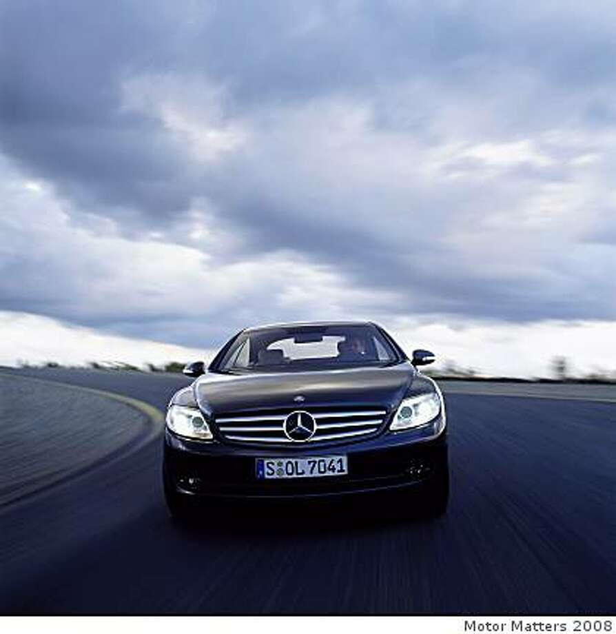 Mercedes-Benz 2009 CL coupe06A2599 001 Photo: Motor Matters 2008