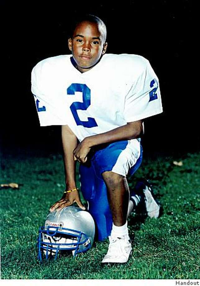 Donald Strickland, as player for the San Francisco Seahawks in Pop Warner football. Photo provided by family. Photo: Handout