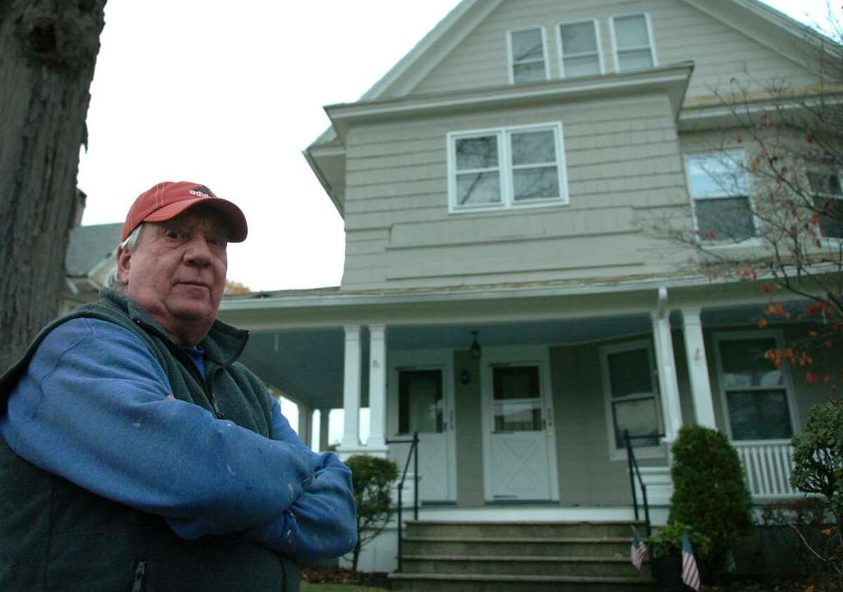 Dave Farrell says the City of Bridgeport owes him $1531.77 in overpaid taxes on his 394 Fairview Avenue home.
