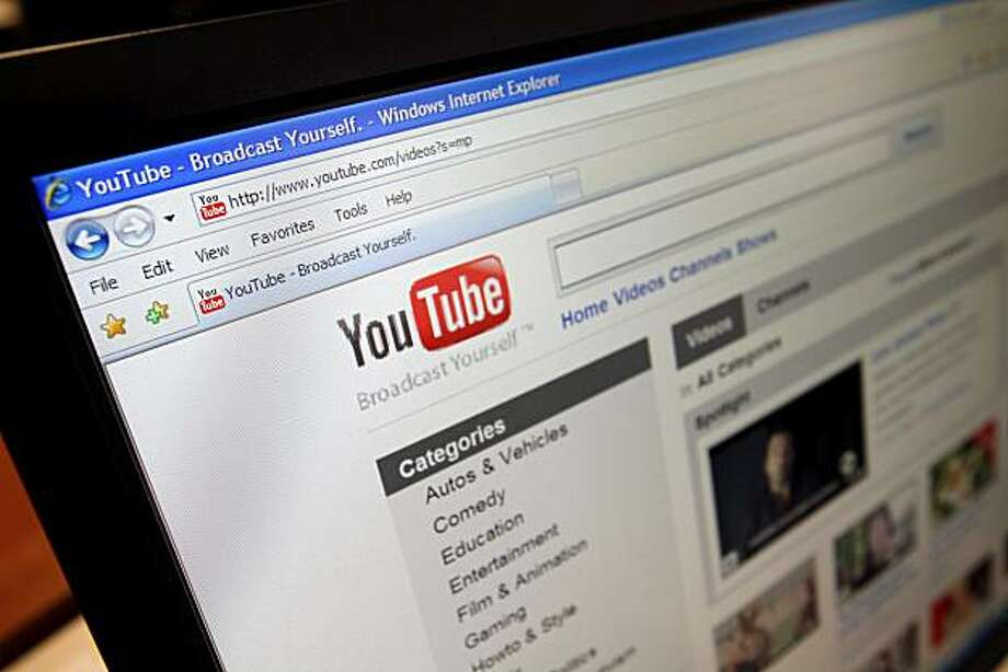 FILE - This file image made March 18, 2010, shows the YouTube website  in Los Angeles. A federal judge sided with Google Inc. on Wednesday, June 23, 2010, in a $1 billion copyright lawsuit filed by media company Viacom Inc. over YouTube videos, saying theservice promptly removed illegal materials as required under federal law. Photo: Richard Vogel, AP