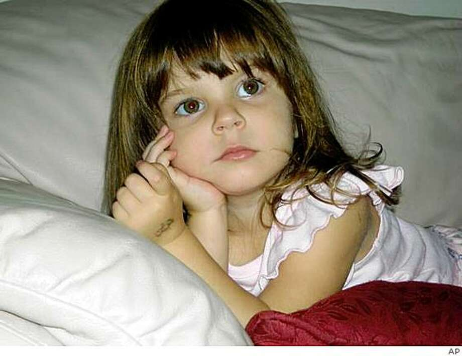 **FILE** This undated photo released by the Orange County Sheriff's Office in Orlando, Fla. on Friday, July 18, 2008, shows Caylee Marie Anthony. Orlando authorities said Friday, Dec. 19, 2008, that DNA tests confirm the skeletal remains recently found in the woods belong to missing toddler Caylee Anthony.  (AP Photo/Orange County Sheriff's Office, File) Photo: AP
