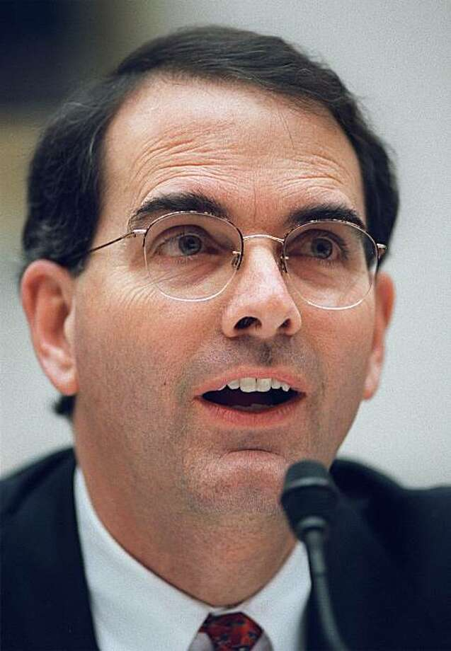 FILE - In this Feb. 14, 2002 file photo, Jay Bybee testifies on Capitol Hill in Washington. Photo: Evan Vucci, AP