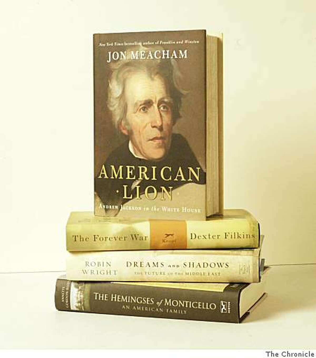 arrangement of best nonfiction books of 2008