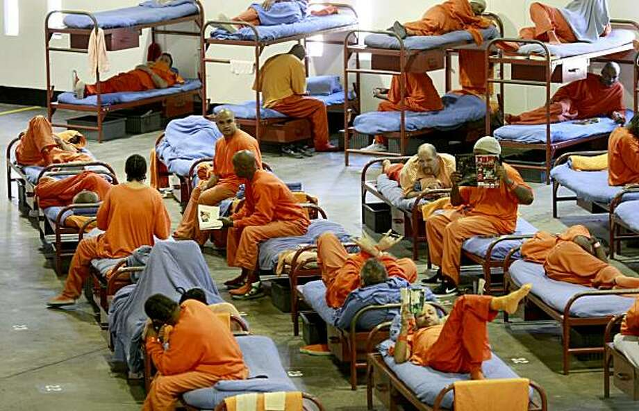 Recent arrests in San Francisco, in particular the Tenderloin area, have resulted in an upsurge in inmates at the county jail. An upsurge in arrests in San Francisco has led to more inmates at the county jail in San Bruno and the Sheriff's Department worried about going way over their budget. Photo: Brant Ward, The Chronicle