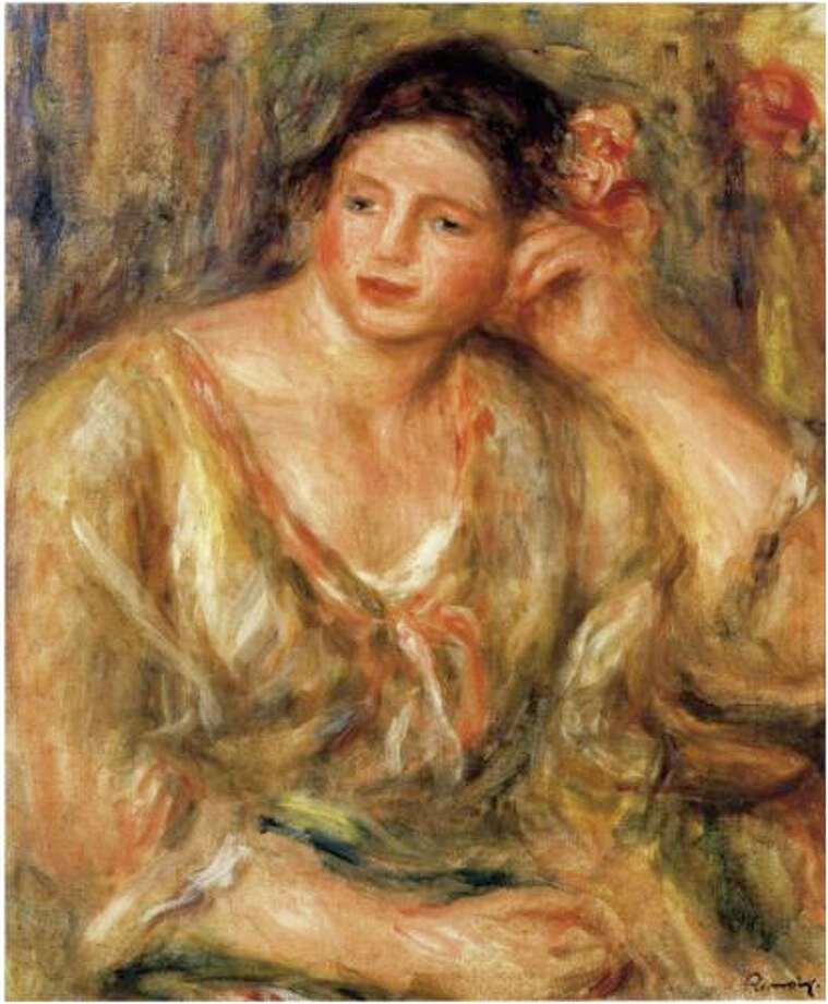 Former federal agent Bob Whitman said that whoever took this oil by Auguste Renoir probably can't find a buyer. / Robert Wittman Inc.