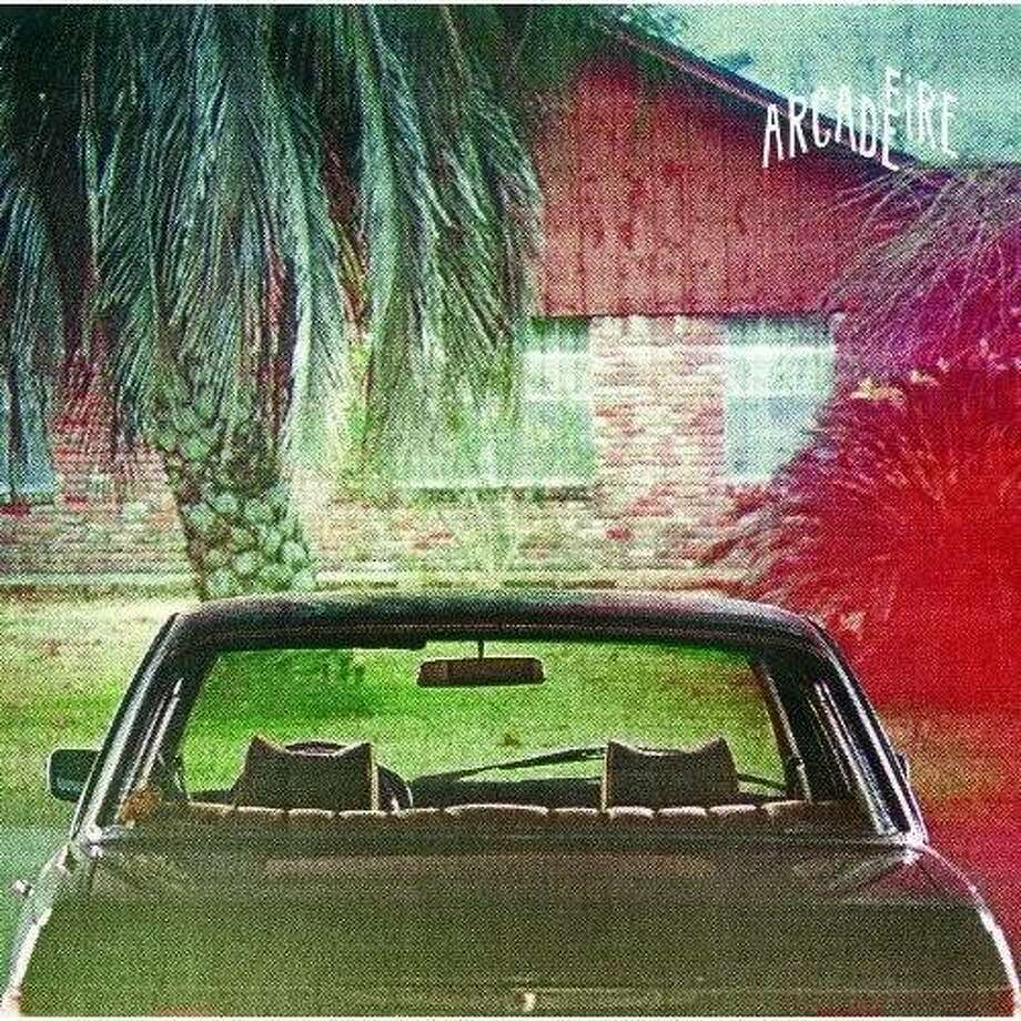 "Arcade Fire CD cover: ""The Suburbs"" Photo: Merge"