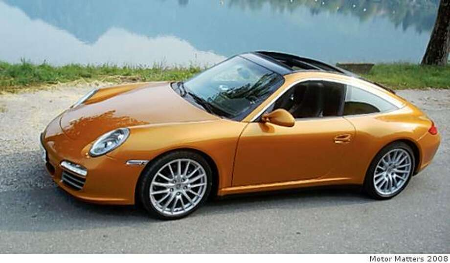 2009 Porshe 911 Targa can achieve 0-to-60 mph in 4.3 seconds. Photo: Motor Matters 2008