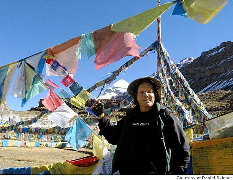 Just back from: Traveler: Daniel Skinner, FairfaxEmail: mangoman96@yahoo.comDaytime phone number: 808.283.5780Just back from: Mt. Kailash TibetI went because: It's an ancient pilgrimage site for Buddhists, Hindus and many others.Don't miss: Trekking in Nepal and shopping in Kathmandu!Don't bother: Staying in the western hotels in Nepal. The tourist hotels are inexpensive and clean.You won't spend much time your room anyway!Coolest souvenir: Carved Yak horns. A gift from our trekking Guide, PremWorth a splurge: Tibetan Thanka's, beautiful paintings of deities like Padmasambava s, Green Tara and Medicine BuddhaI wish I'd packed: less... you can get anything you need in Kathmandu, from trekking gear to pashmina shawls!Other comments: Details of attached photo (if sent): Daniel with prayer flags. Mt Kailash, Tibet in the distance. Photo: Courtesy Of Daniel Skinner