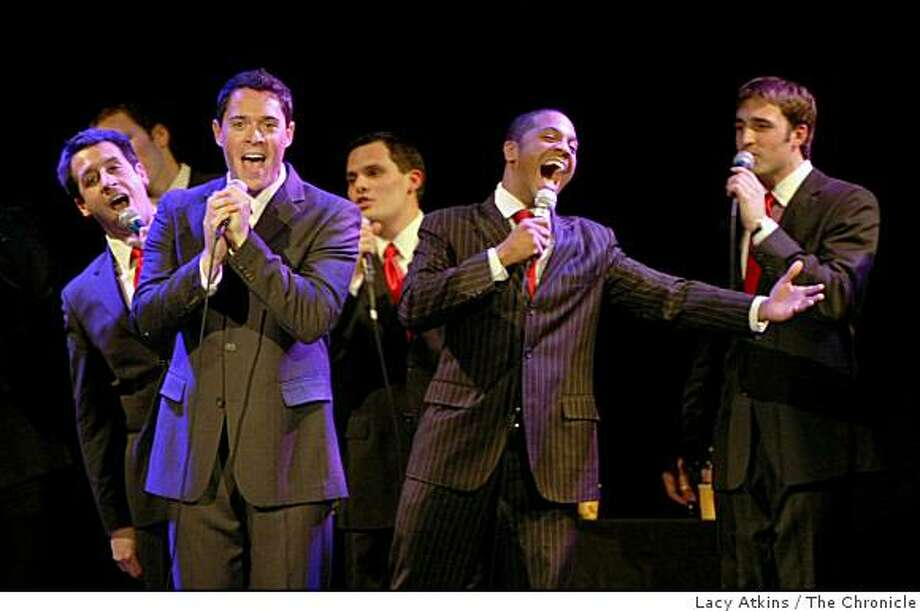 Straight No Chaser performs to a sell out crowd, at the Great American Music Hall, Monday Dec. 15, 2008, in San Francisco, Calif. Photo: Lacy Atkins, The Chronicle