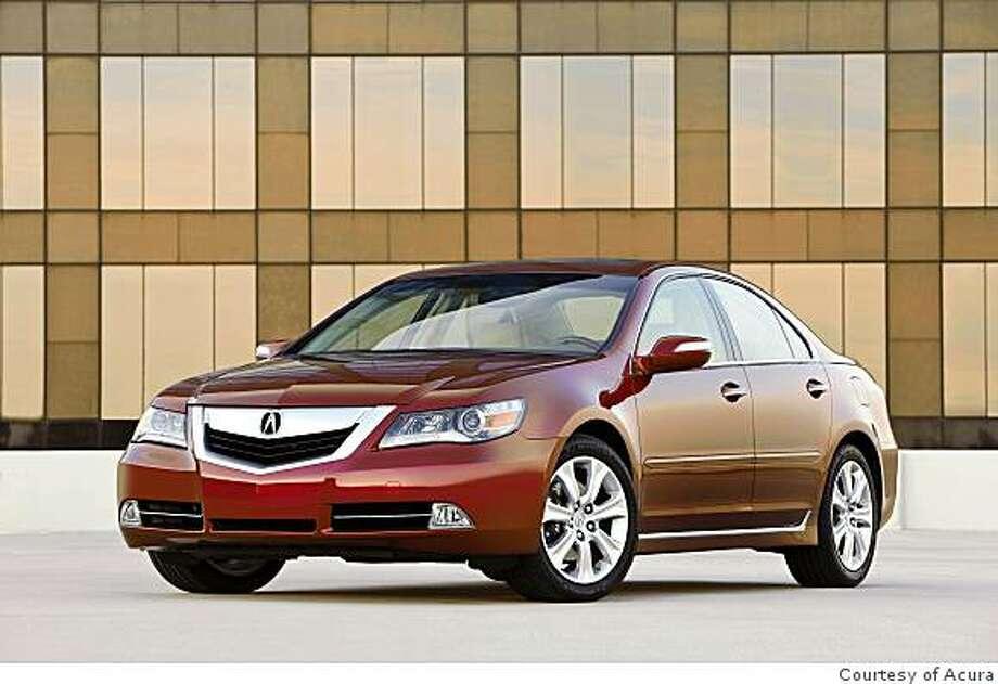 2009 Acura RL Photo: Courtesy Of Acura