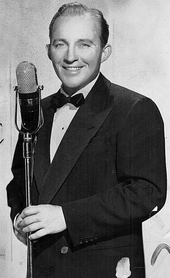 Bing Crosby no date given. Photo: Handout, The Chronicle