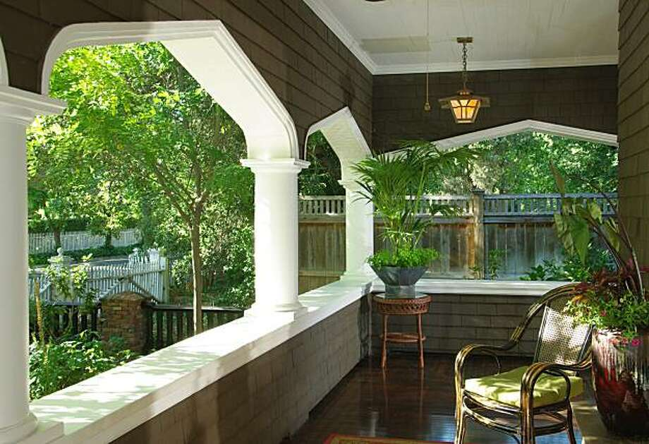 The porch at 558 2nd St. East for Hot Property. Photo: Courtesy Vince Valdes