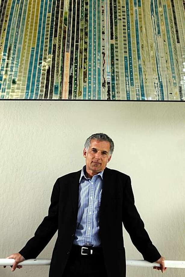 Jay Rosenblatt is the new programmer for the jewish film festival Wednesday June 30, 2010. Photo: Lance Iversen, The Chronicle