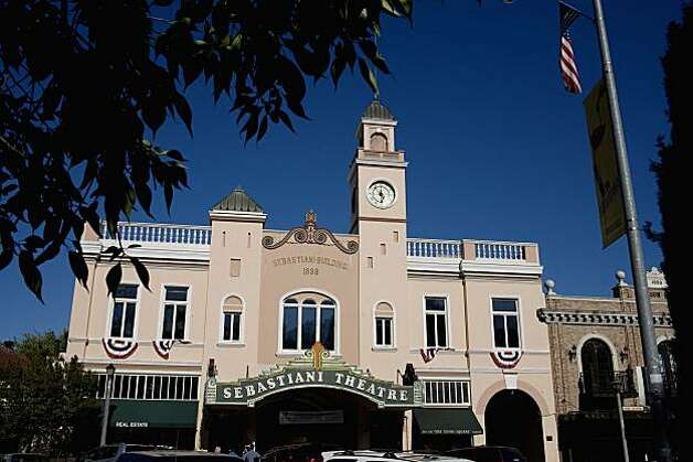 The Sebastiani Theatre was a movie house built in 1933, by August Sebastiani, and faces the Sonoma Plaza, in Sonoma, Ca., on Saturday, July 17, 2010. Photo: Lianne Milton, Special To The Chronicle