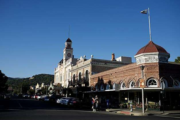 Sebastiani Theatre and First St. East, off the plaza, in Sonoma, Ca., on Saturday, July 17, 2010. Photo: Lianne Milton, Special To The Chronicle
