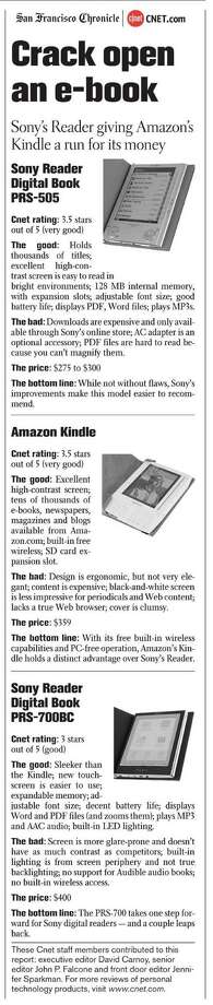 Crack open an e-book (Courtesy of CNET.com)