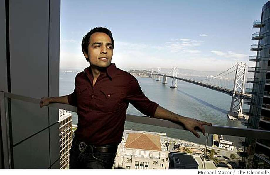 Gurbaksh Chahal in his San Francisco high-rise penthouse in downtown San Francisco, Calif. on Friday Oct. 17, 2008. Chahal is the San Jose internet entrepeneur who made a company as a teenager and sold it to Yahoo for $300 million a few years ago.He has a book coming out on Oct. 23 and will appear on Oprah the same day. Photo: Michael Macor, The Chronicle