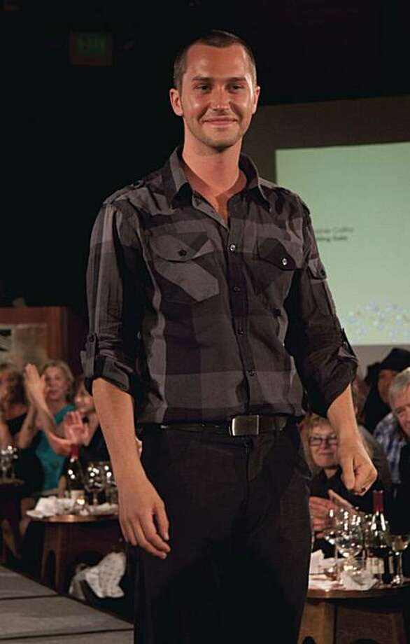 San Francisco designer Christopher Collins showed his spring collection in a June 10 gala event for Dress for Success San Francisco. Photo: Pete Briones