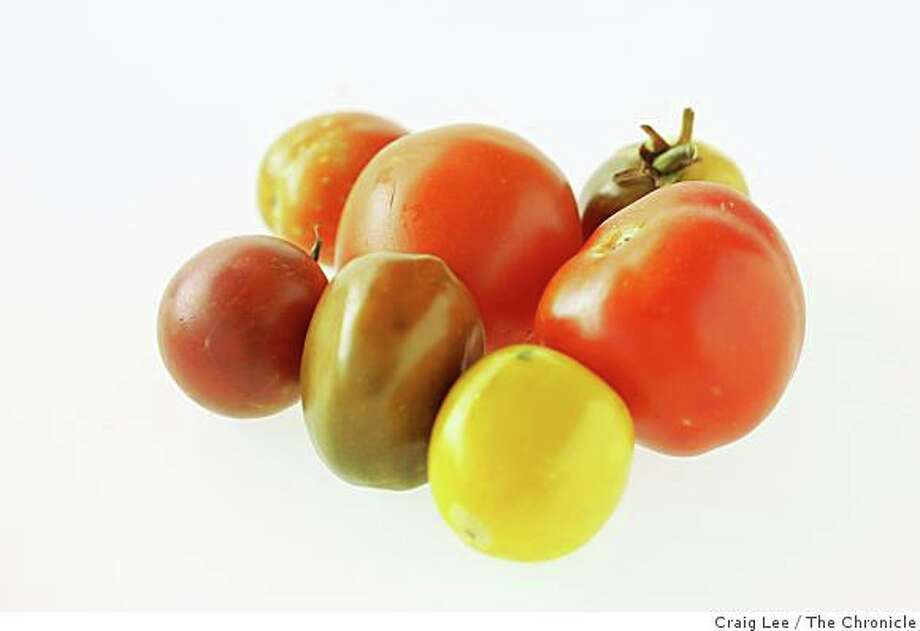 Summer's tomatoes can be preserved for later use by freezing. Photo: Craig Lee, The Chronicle