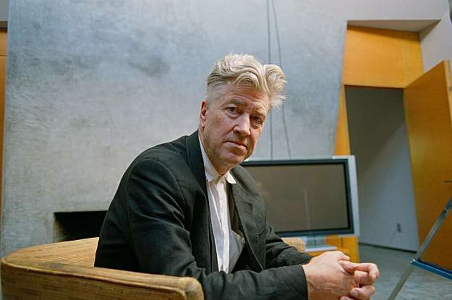 """Director David Lynch is interviewed for """"The Great Directors."""" Photo: Courtesy Of Paladin Films"""